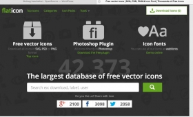 Flaticon 42.000 Free Vector Icons